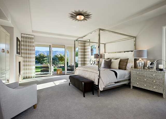 Master bedroom at Andalusia